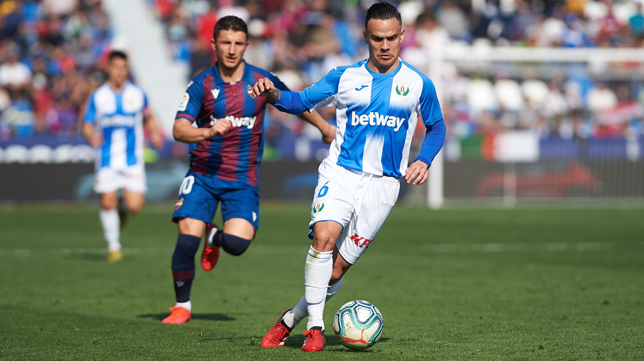 Roque Mesa, en un partido con el Leganés (Foto: EP)