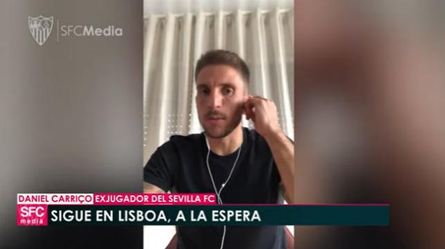 Daniel Carriço, en videoconferencia