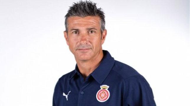Pep Martí, entrenador del Girona.
