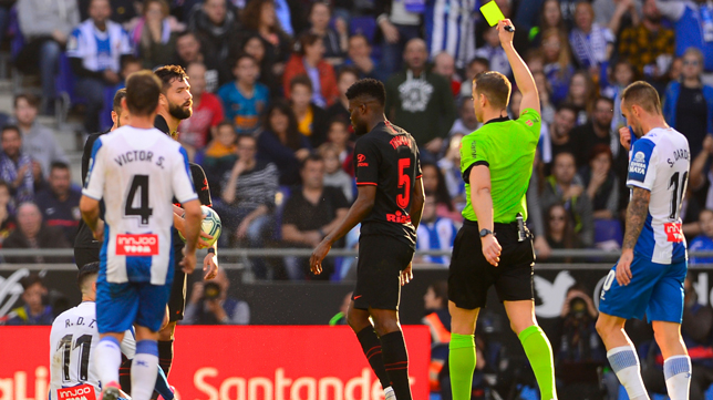 Thomas Partey saw the fifth yellow against Espanyol and will miss the match against Sevilla FC (Photo: AFP)