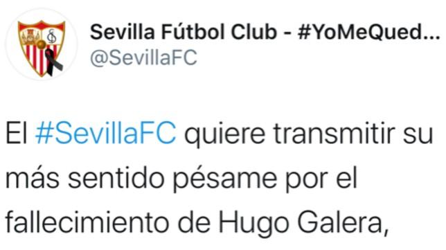 Tuit del Sevilla FC