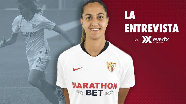 Lucía Ramírez, jugadora del Sevilla FC Femenino (Foto: Sevilla FC)