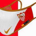 Mascarilla personalizada para el Sevilla (Air Creative)