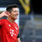 El delantero del Bayern Múnich, Robert Lewandowski