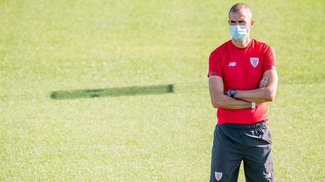 Gaizka Garitano, entrenador del Athletic (Foto: EFE).