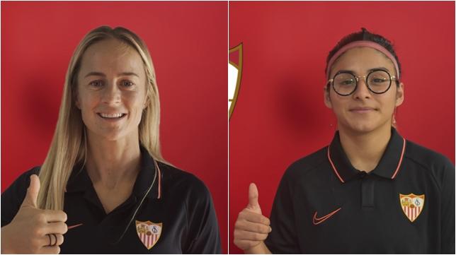 Aivi Luik y Javiera Toro, las nuevas incorporaciones del Sevilla Femenino