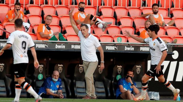 Voro, entrenador del Valencia CF