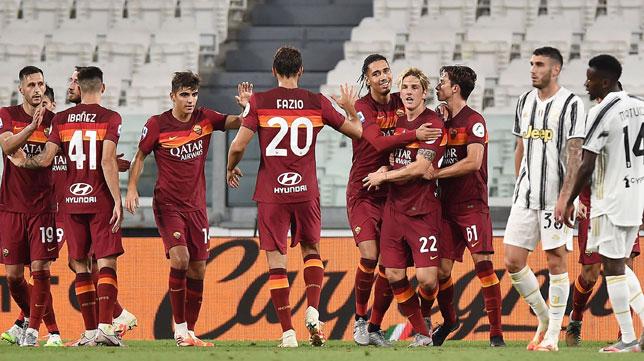 La Roma Vence A La Juventus 1 3 Antes De Medirse Al Sevilla