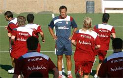 La plantilla del Sevilla FC se va de vacaciones hasta el lunes