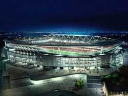 El Fly Emirates Stadium, nuevo feudo de los 'gunners'