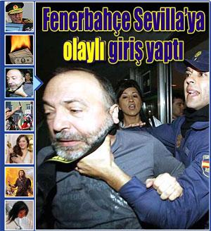 Sevilla FC: Captura de la portada digital del diario turco 'Millyet'
