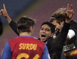 Sevilla FC: Renato, el gran protagonista de la noche con dos goles marcados