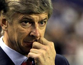 Sevilla FC: Wenger, en un momento del partido