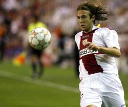 Sevilla FC: Capel durante un partido de Champions