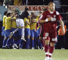 Sevilla FC: Chevantón se lamenta del empate del Denia, en la ida de la Copa