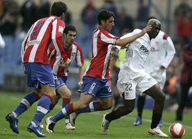 Sevilla FC: No fue el día para Koné