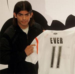 Sevilla FC: Éver Banega, el día de su presentación como jugador del Valencia CF