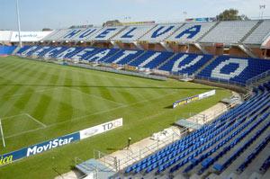 Sevilla FC: Aspecto del Nuevo Colombino de Huelva