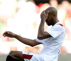 Sevilla FC: Ka nouté se lamenta de una ocasión fallada
