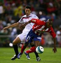 Sevilla FC: Duro partido contra un Atlético renovado