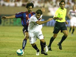 Uno de los enfrentamientos del Sevilla FC contra el Levante en la temporada pasada