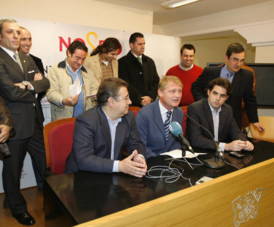 Sevilla FC: Momento de la presentación del encuentro