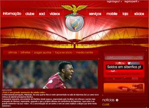 Sevilla FC: Captura de la web del Benfica anunciando el fichaje de Makukula