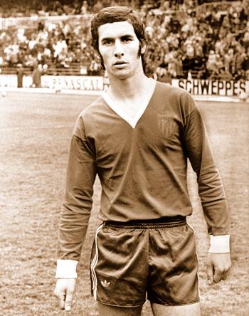 Enrique Montero, en 1977