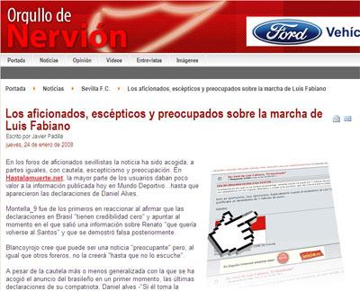 Sevilla FC: Pincha aquí para ir a la noticia