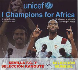 Sevilla FC: imagen del cartel del partido
