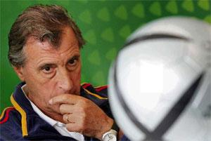 Sevilla FC: Armando Ufarte, en una imagen de archivo