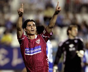 Sevilla FC: Fernando Sales, en la temporada 2005/06