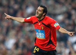 Imagen del delantero madrileño Güiza