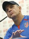 Javier Aguirre, entrenador del Atlético de Madrid