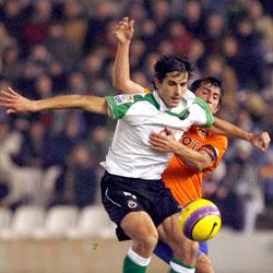 Imagen del centrocampista Jorge López