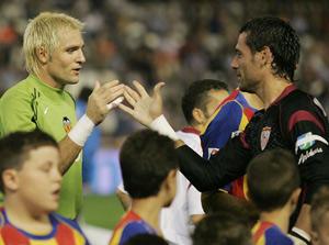 Sevilla FC: Palop saluda a Cañizares, destituido recientemente del Valencia