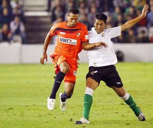 Sevilla FC: imagen del partido en el Sardinero de la pasada temporada