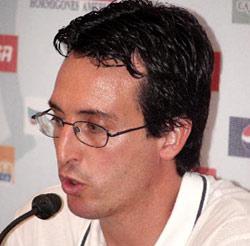 Unai Emery, entrenador del Almería