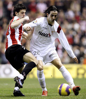 Sevilla FC: CRespo podría estar más de un mes de baja