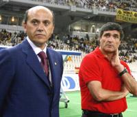 José María del Nido y Juande Ramos