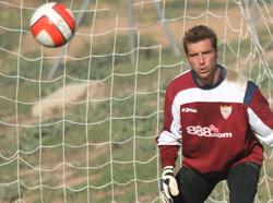 Sevilla FC: el portero italinao De Sanctis