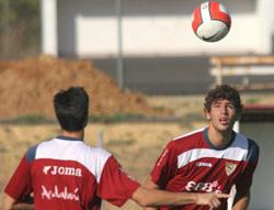 Sevilla FC: El argentino Fazio, durante un entrenamiento