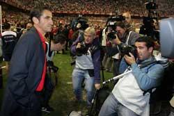 Sevilla FC: Jiménez, preocupado por las bajas
