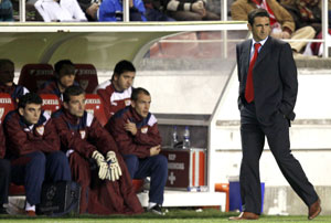 Sevilla FC: Jiménez señaló la expulsión como clave de la derrota