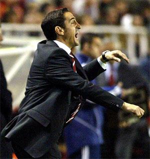 "Sevilla FC: Jiménez lamentó las ocasiones ""perdonadas"""