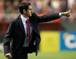 Sevilla FC: imagen del técnico del Sevilla