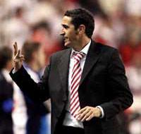 Sevilla FC: Jiménez, durante el partido