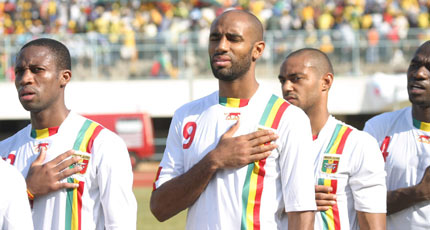 Sevilla FC: Kanouté y Keita, con la selección de Mali en una imagen de archivo