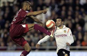Sevilla FC: Kanouté, en un lance del encuentro del sábado