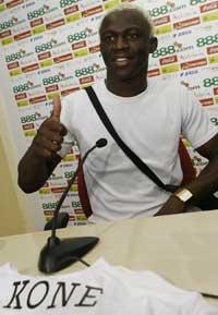 Arouna Koné, jugador del Sevilla FC